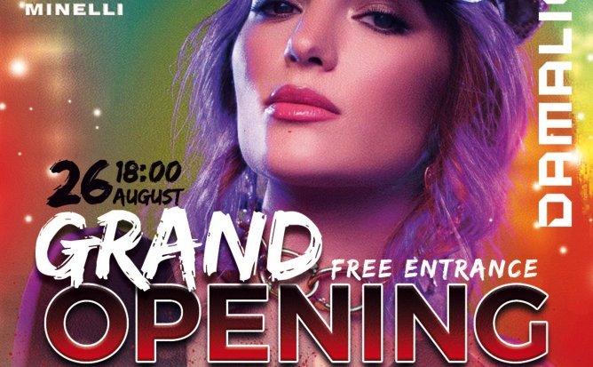 Grand Opening Showroom DAMALIO